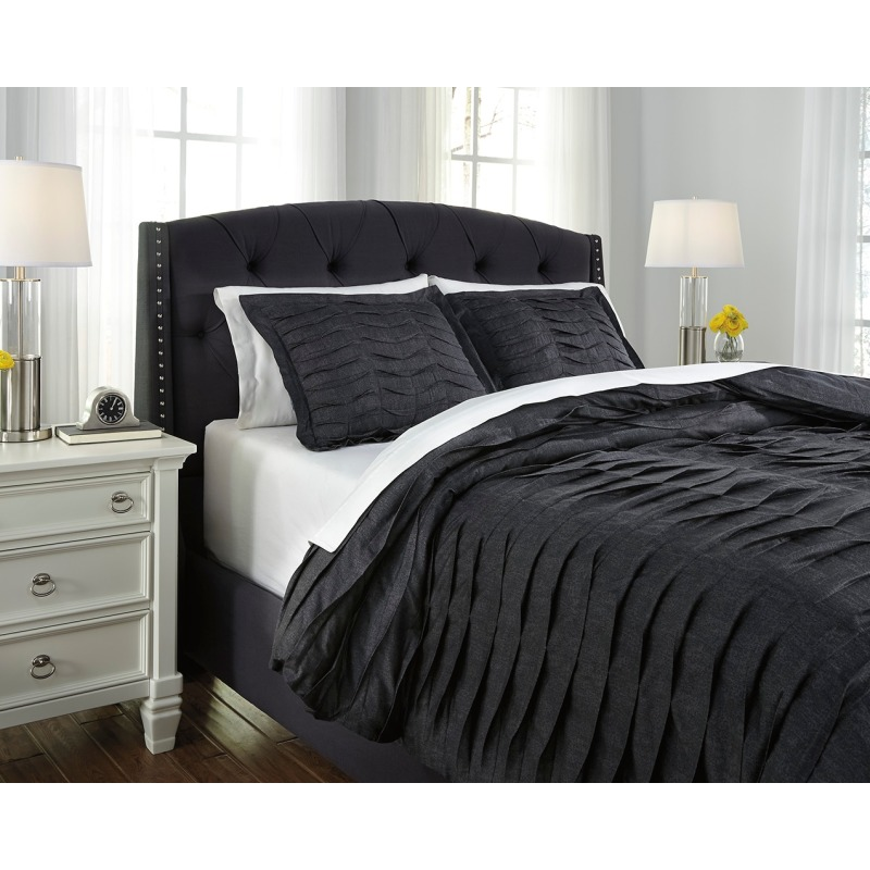 Voltos 3-Piece King Duvet Cover Set
