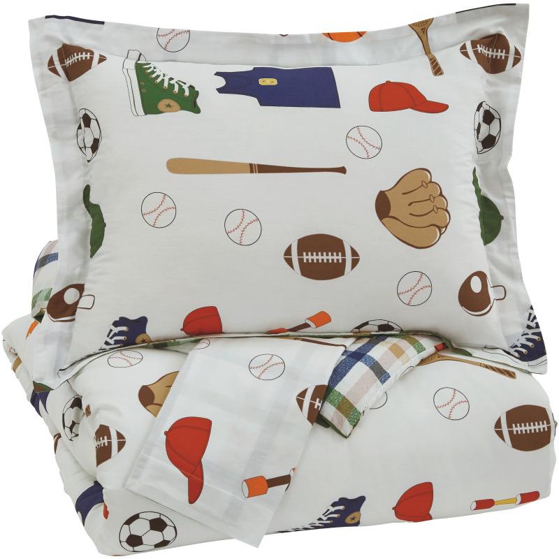 Varias 3-Piece Full Comforter Set