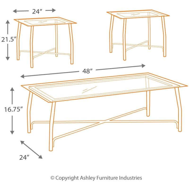Burmesque Table (Set of 3)