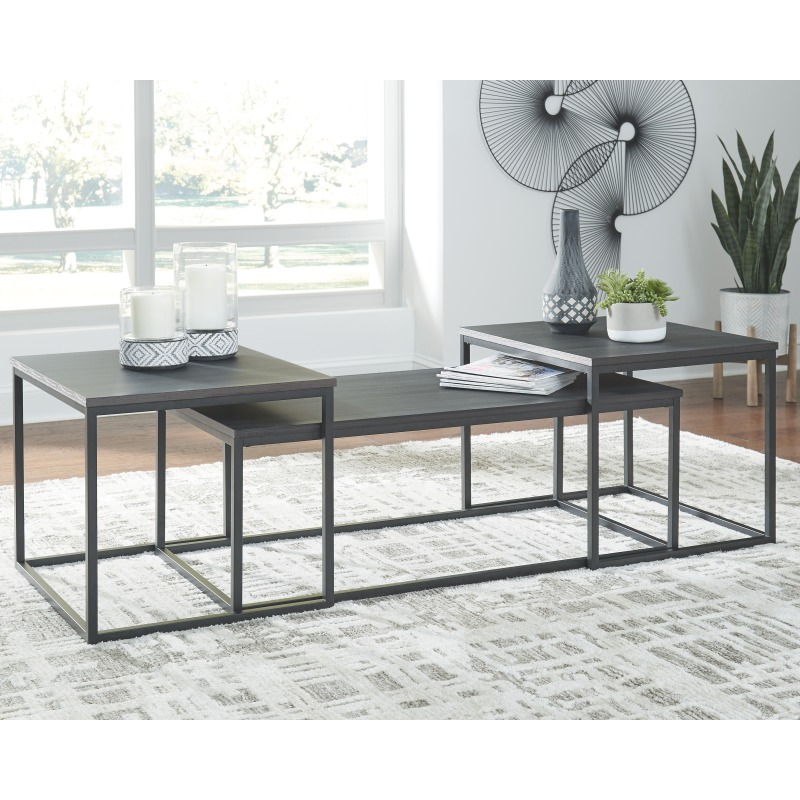 Yarlow Table (Set of 3)