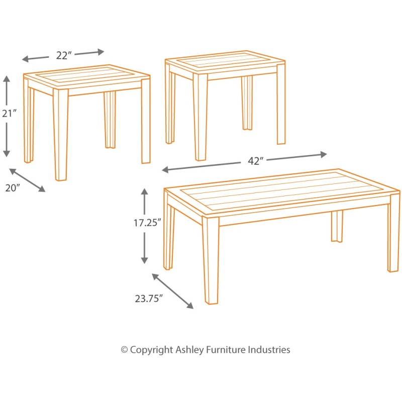 Birstrom Table (Set of 3)