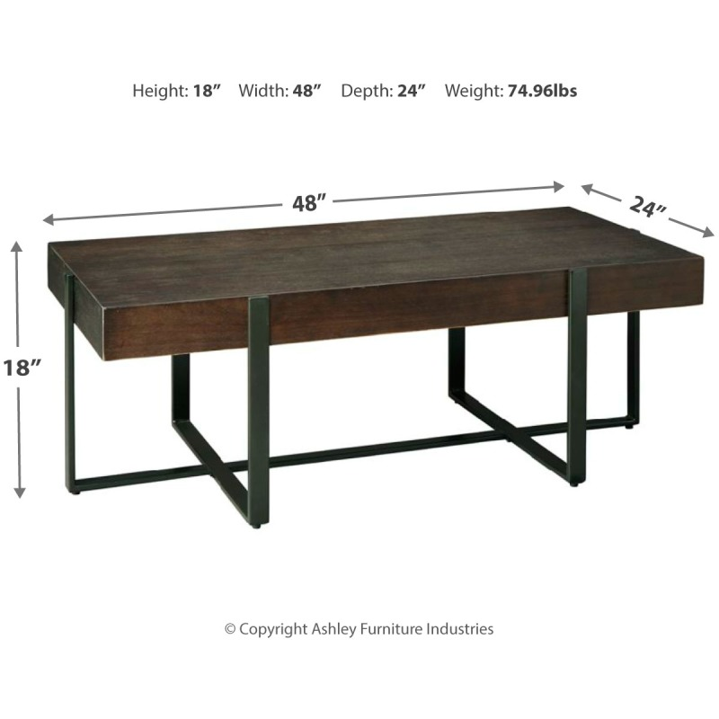 Drewing Coffee Table