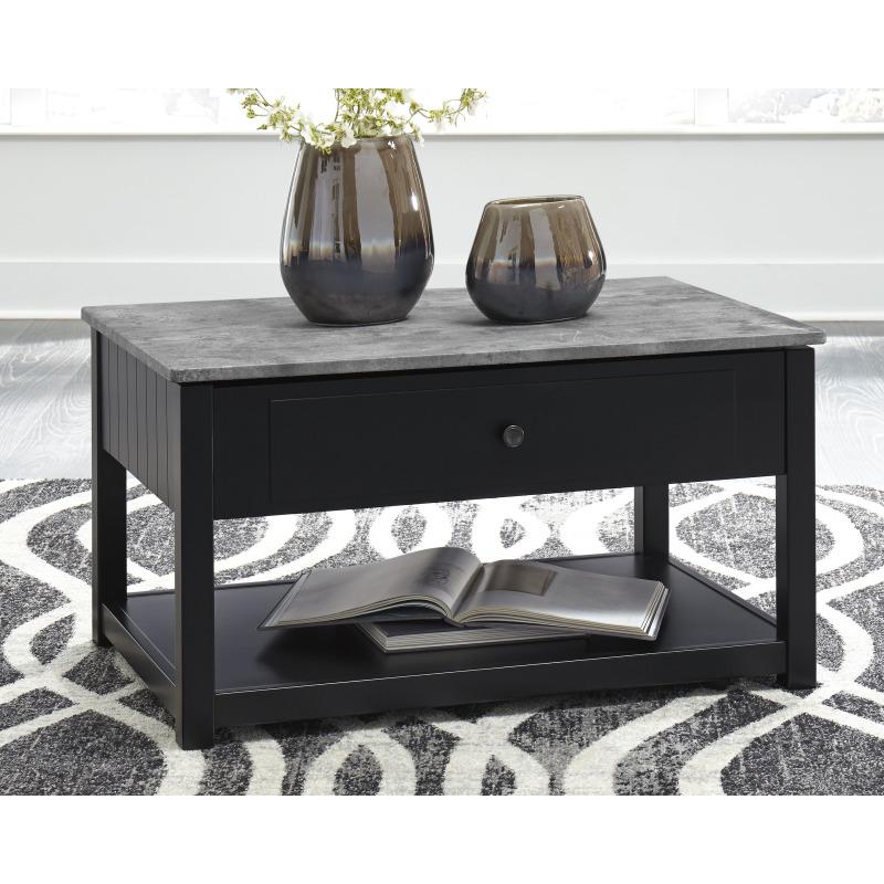 Ezmonei Coffee Table with Lift Top