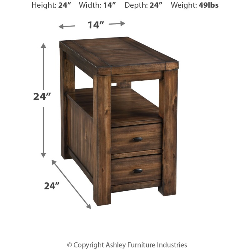 Marleza Chairside End Table
