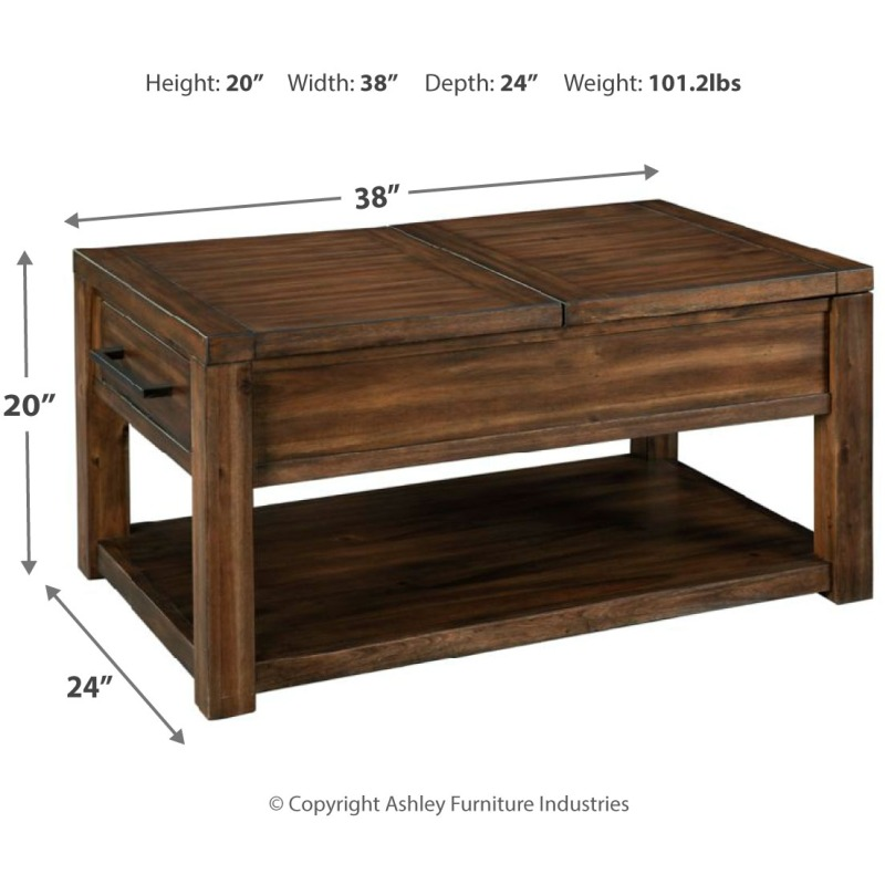 Marleza Coffee Table with Lift Top