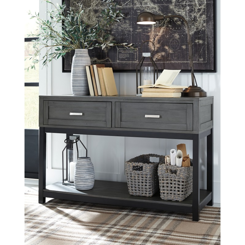 Caitbrook Sofa/Console Table
