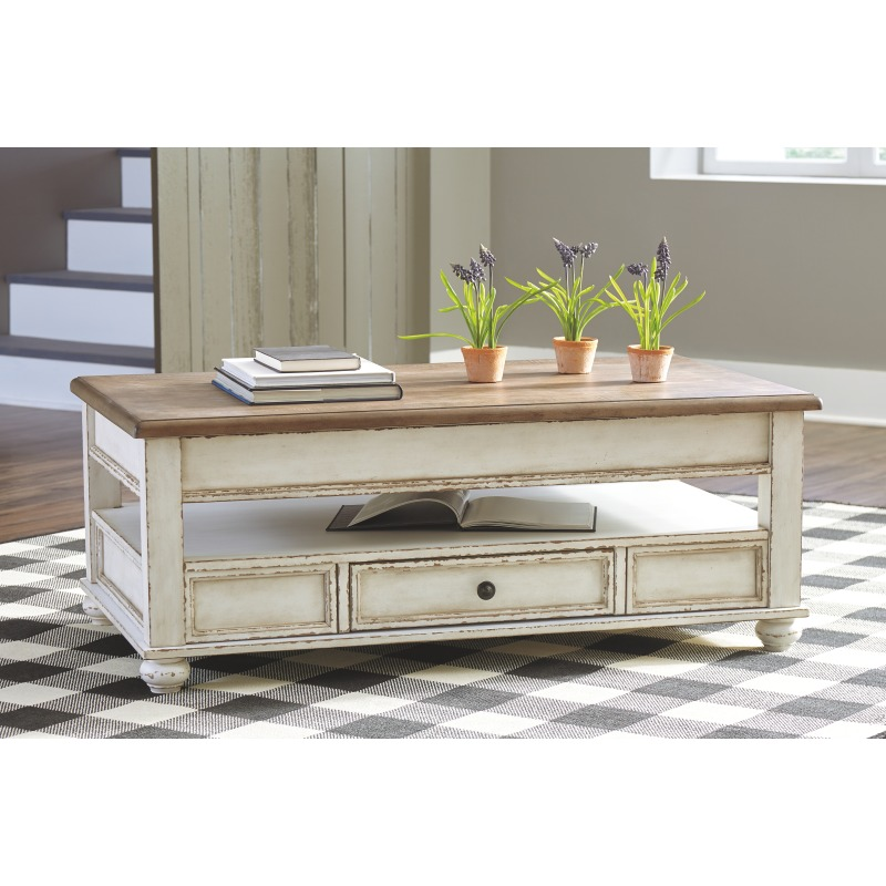 Realyn Coffee Table with Lift Top