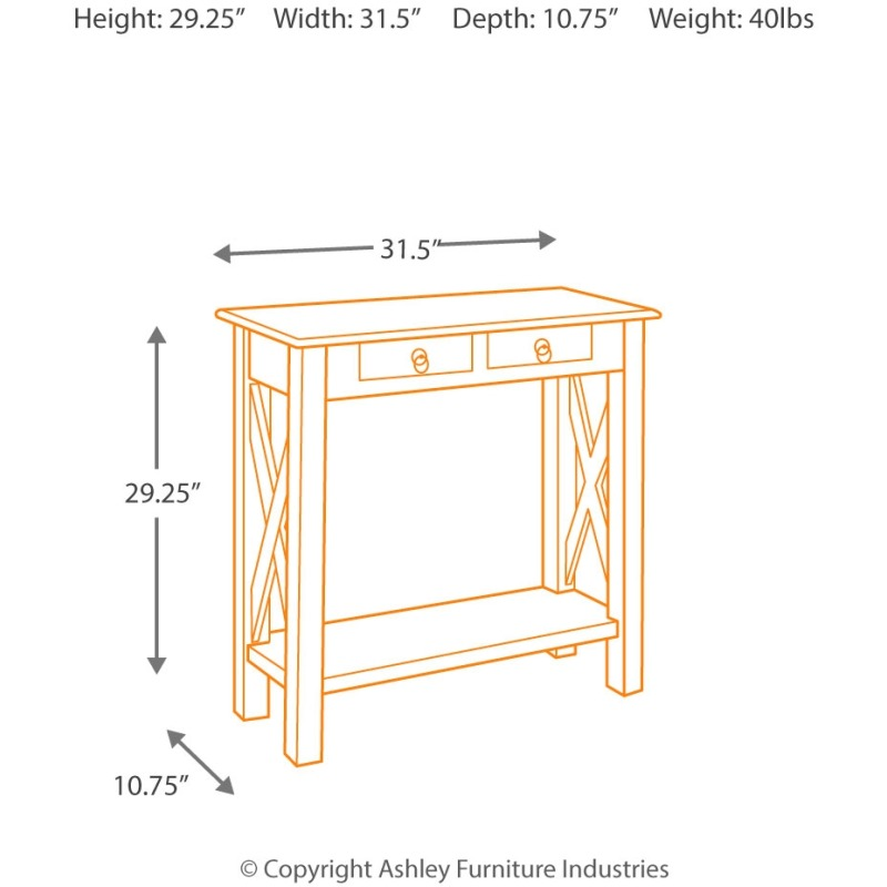 Abbonto Sofa/Console Table