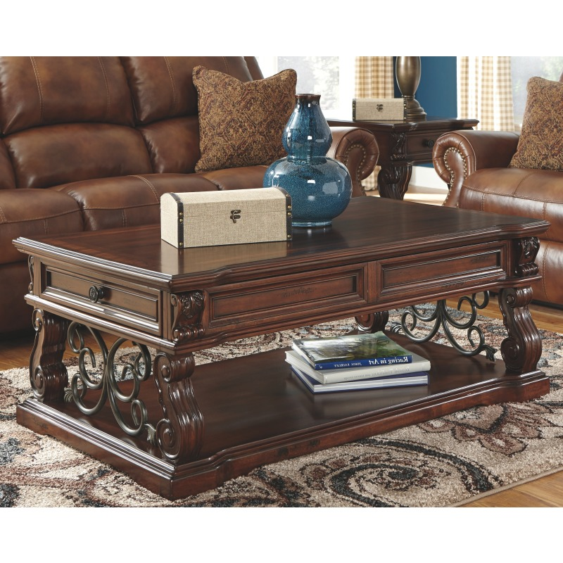 Alymere Coffee Table with Lift Top