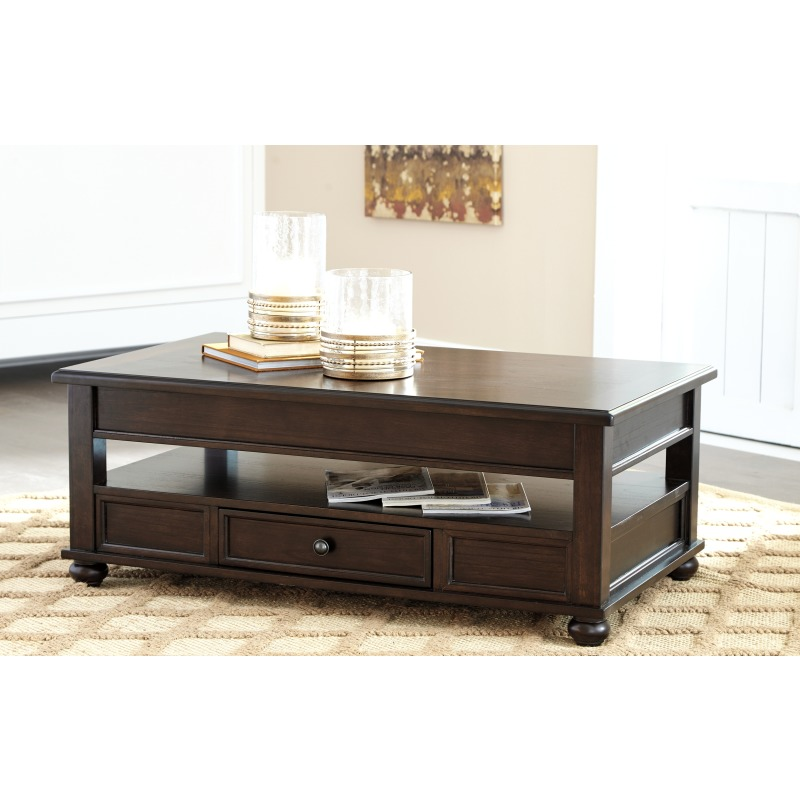 Barilanni Coffee Table with Lift Top