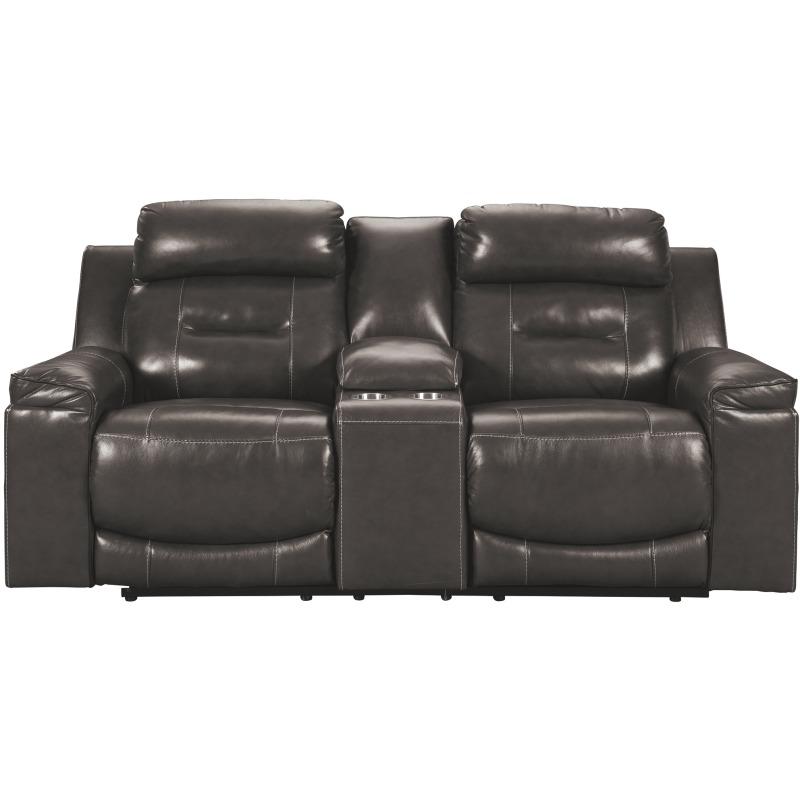 Amazing Pomellato Power Reclining Loveseat With Console By Signature Machost Co Dining Chair Design Ideas Machostcouk