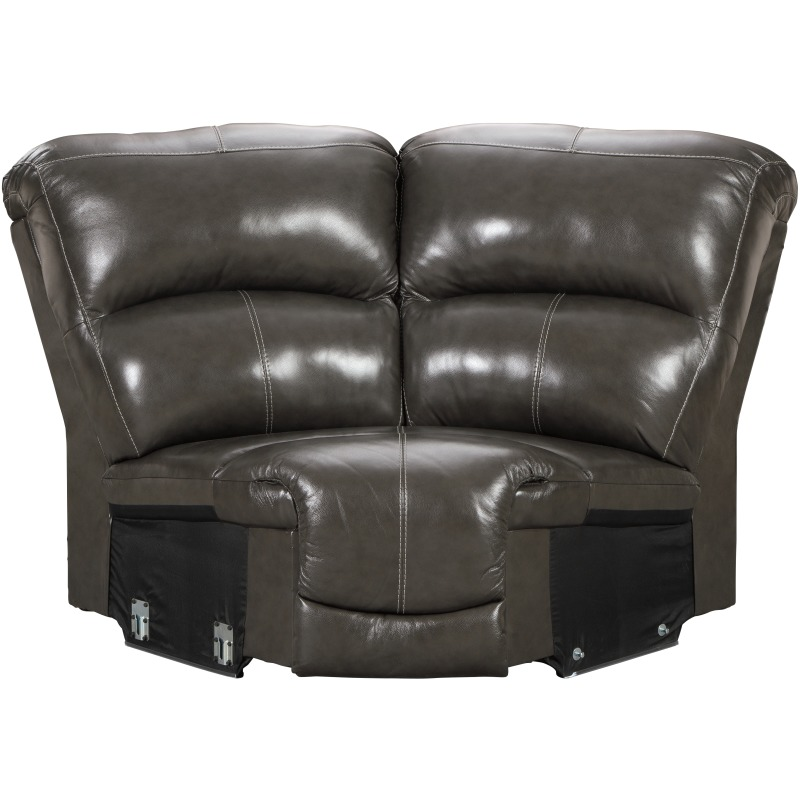 Hallstrung 6-Piece Reclining Sectional with Chaise and Power