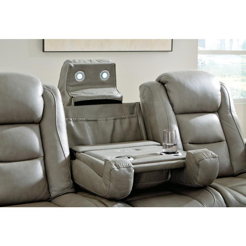The Man-Den Power Reclining Sofa
