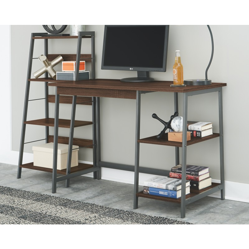 Soho Home Office Desk with Shelf