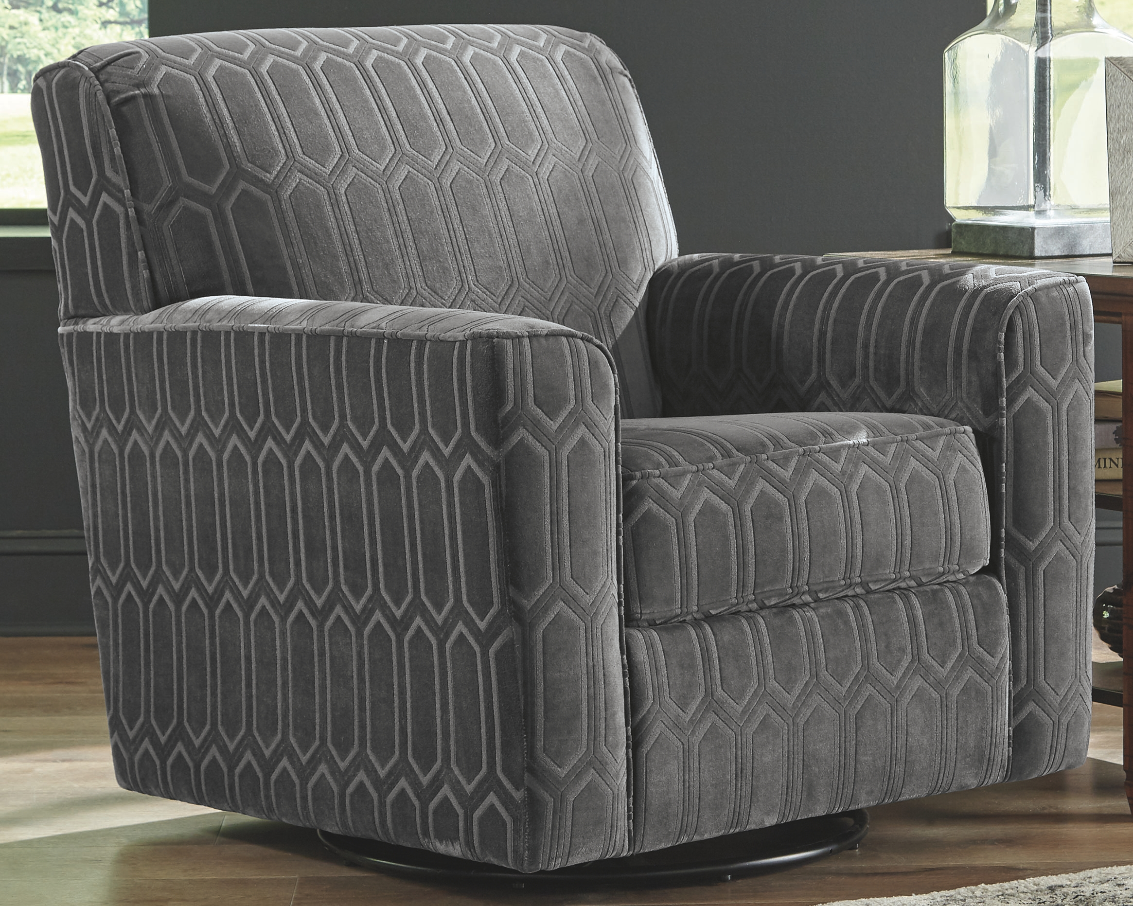 Zarina Accent Chair By Signature Design Ashley 110125677 Turner S Budget Furniture