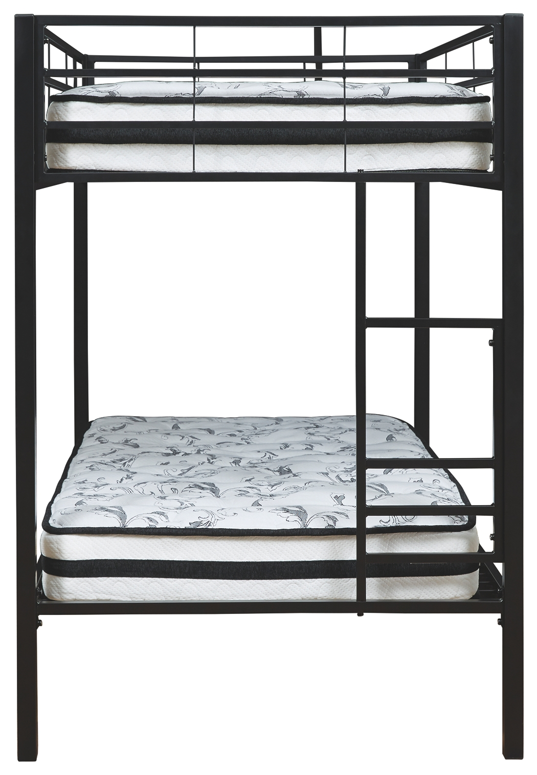 Broshard Twin Over Twin Metal Bunk Bed By Signature Design By Ashley Nis798385191 The Furniture Mall