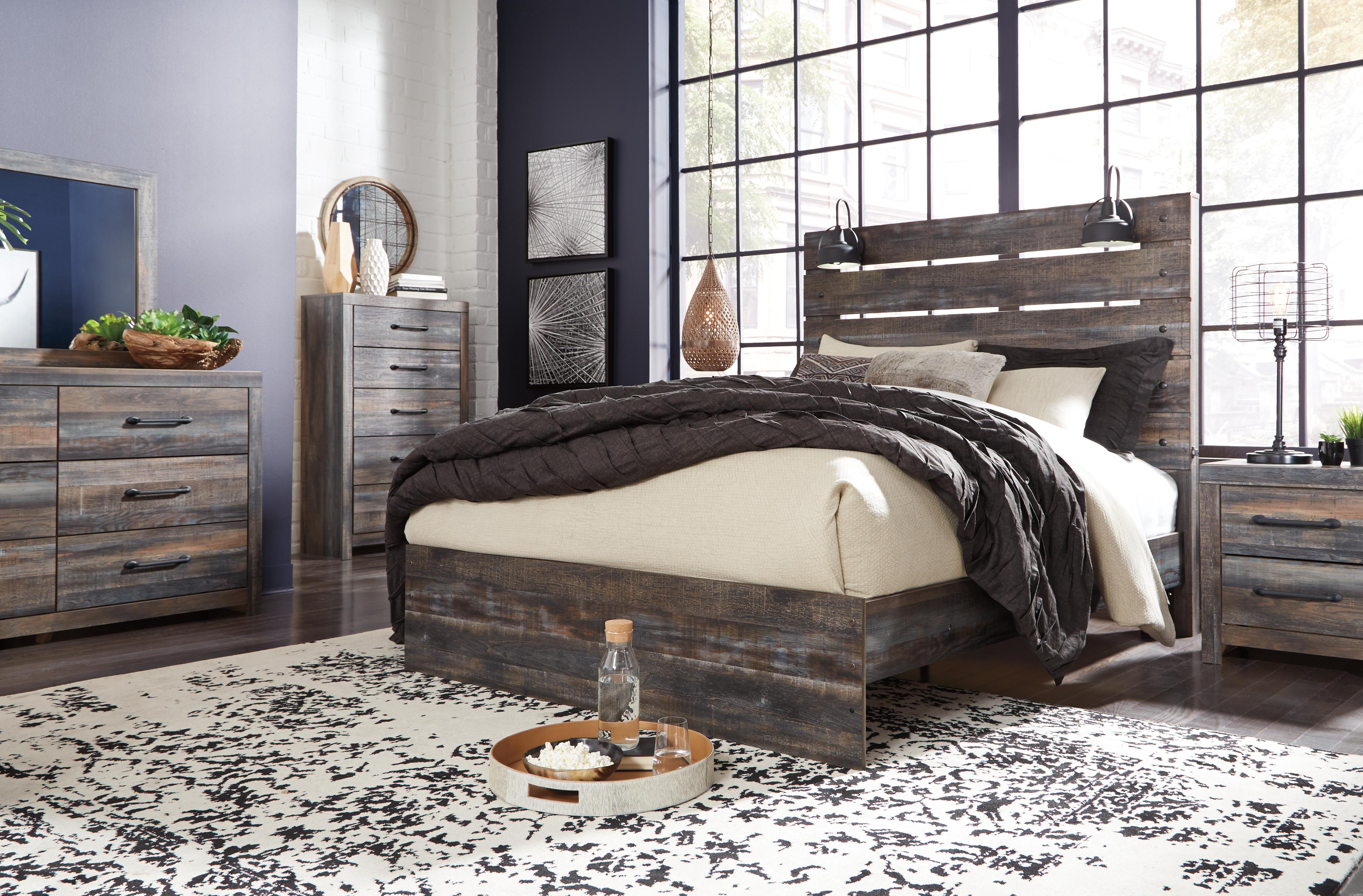 Drystan Queen Panel Headboard By Signature Design By Ashley B956534730 Godwin S Furniture Mattress