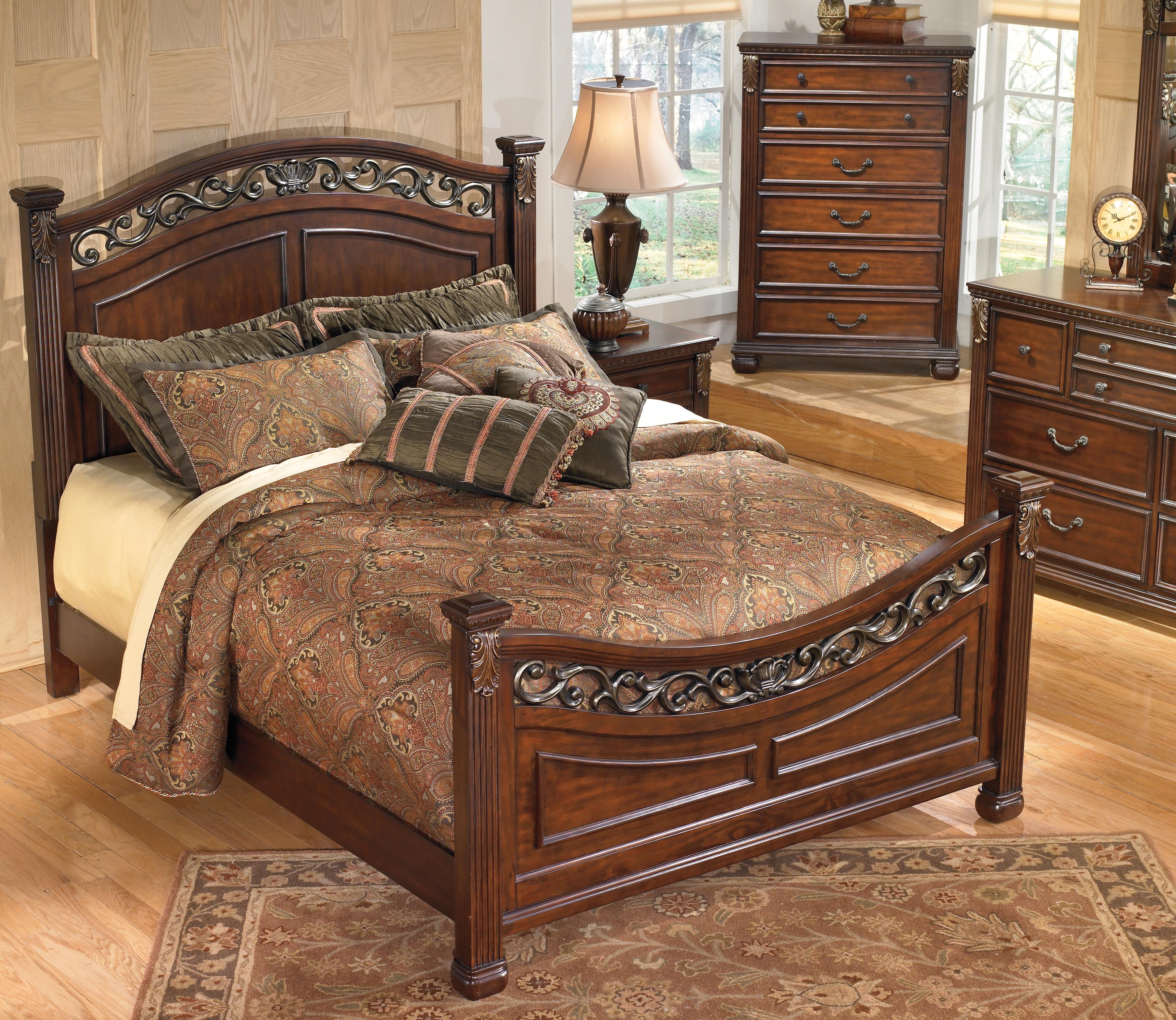 Leahlyn King Panel Bed B526b4 Ashley Homestore