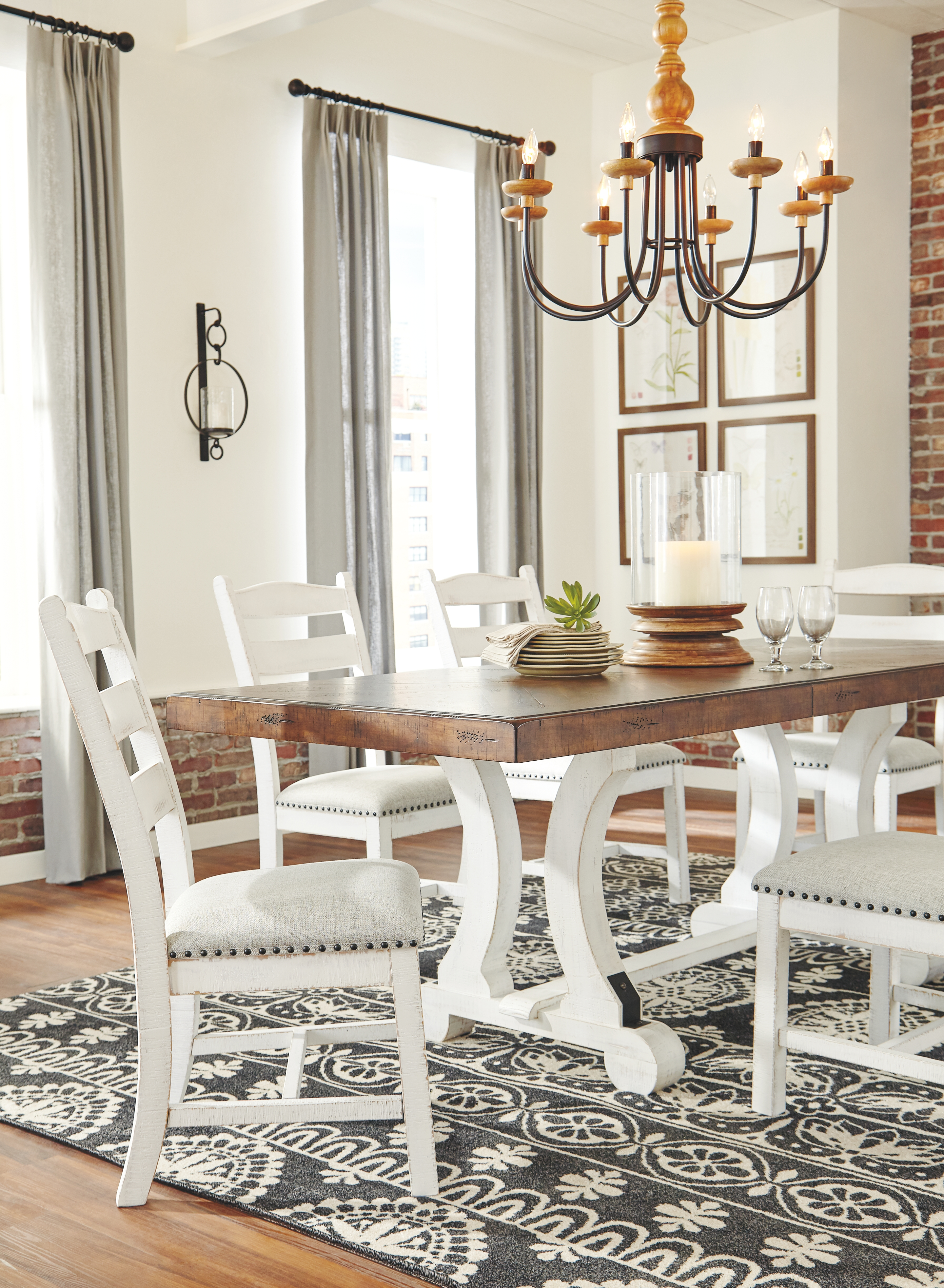 Valebeck Dining Table By Signature Design By Ashley D546 35 Smith Home Furnishings