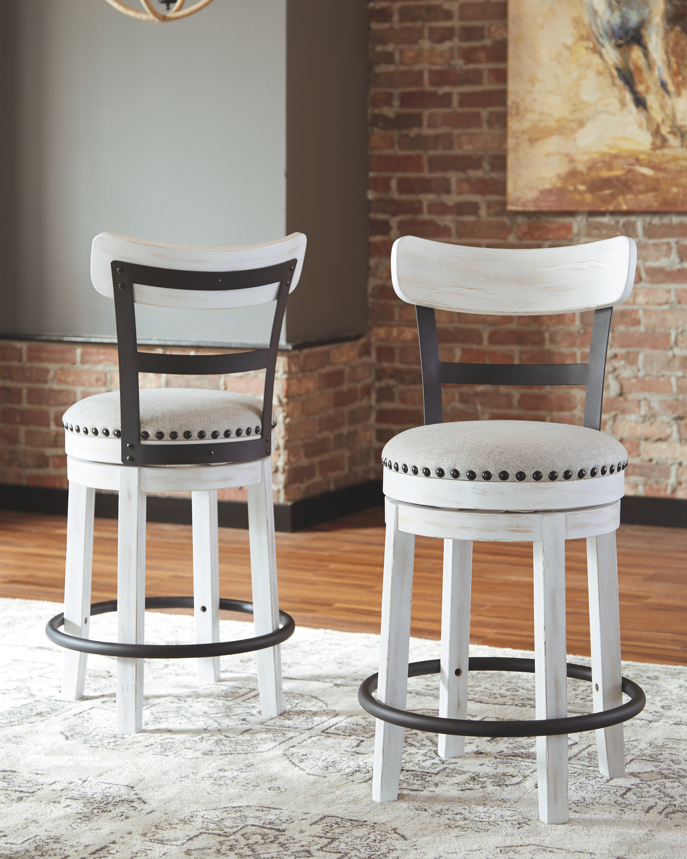 Valebeck Counter Height Bar Stool By Signature Design By Ashley D546 524 Pierce Furniture Mattress