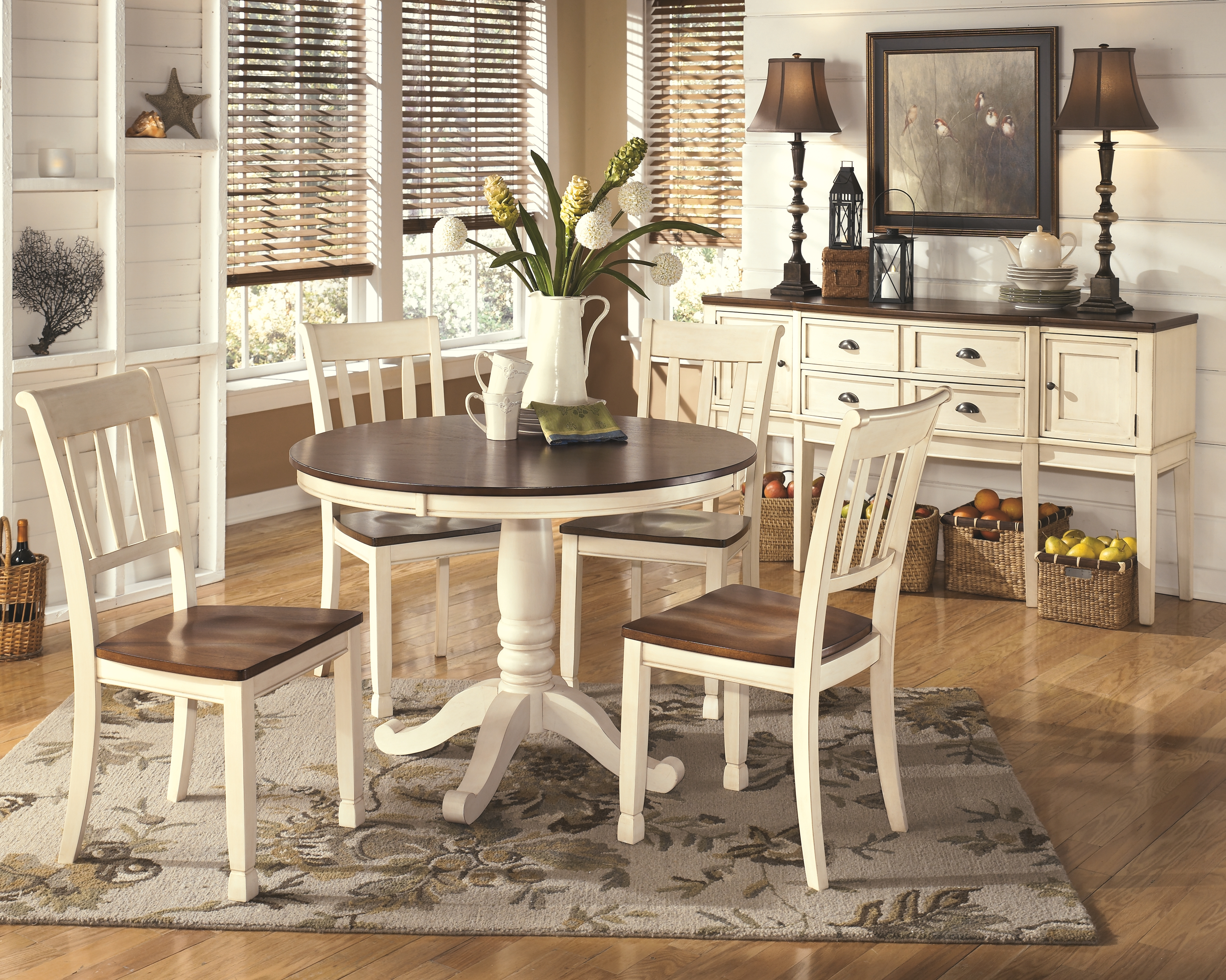 Whitesburg Dining Room Chair D583 02 By, Whitesburg Dining Room Chair