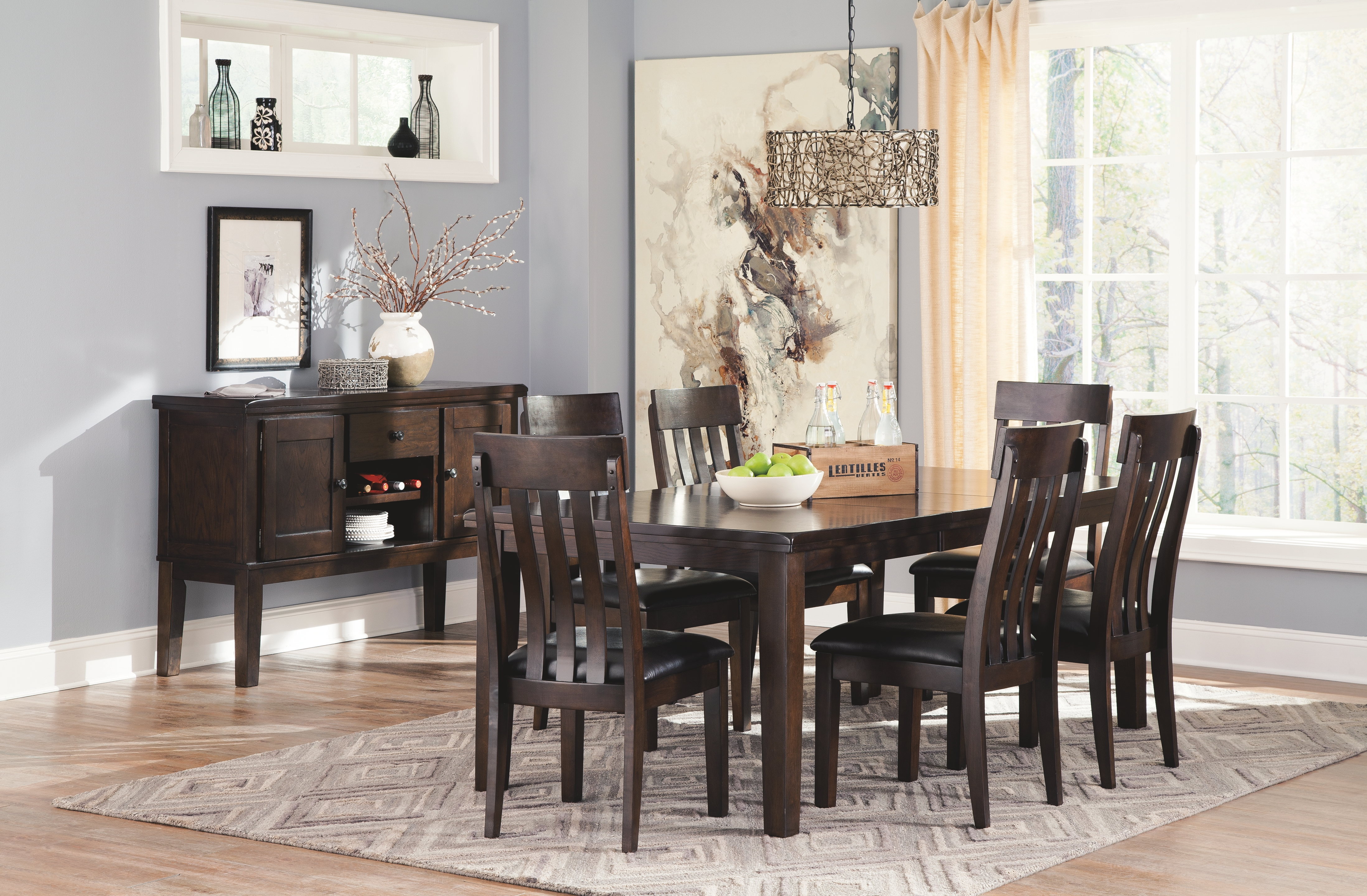 Haddigan Dining Room Table By Signature Design By Ashley D596 35 Northpoint Furniture Mattress