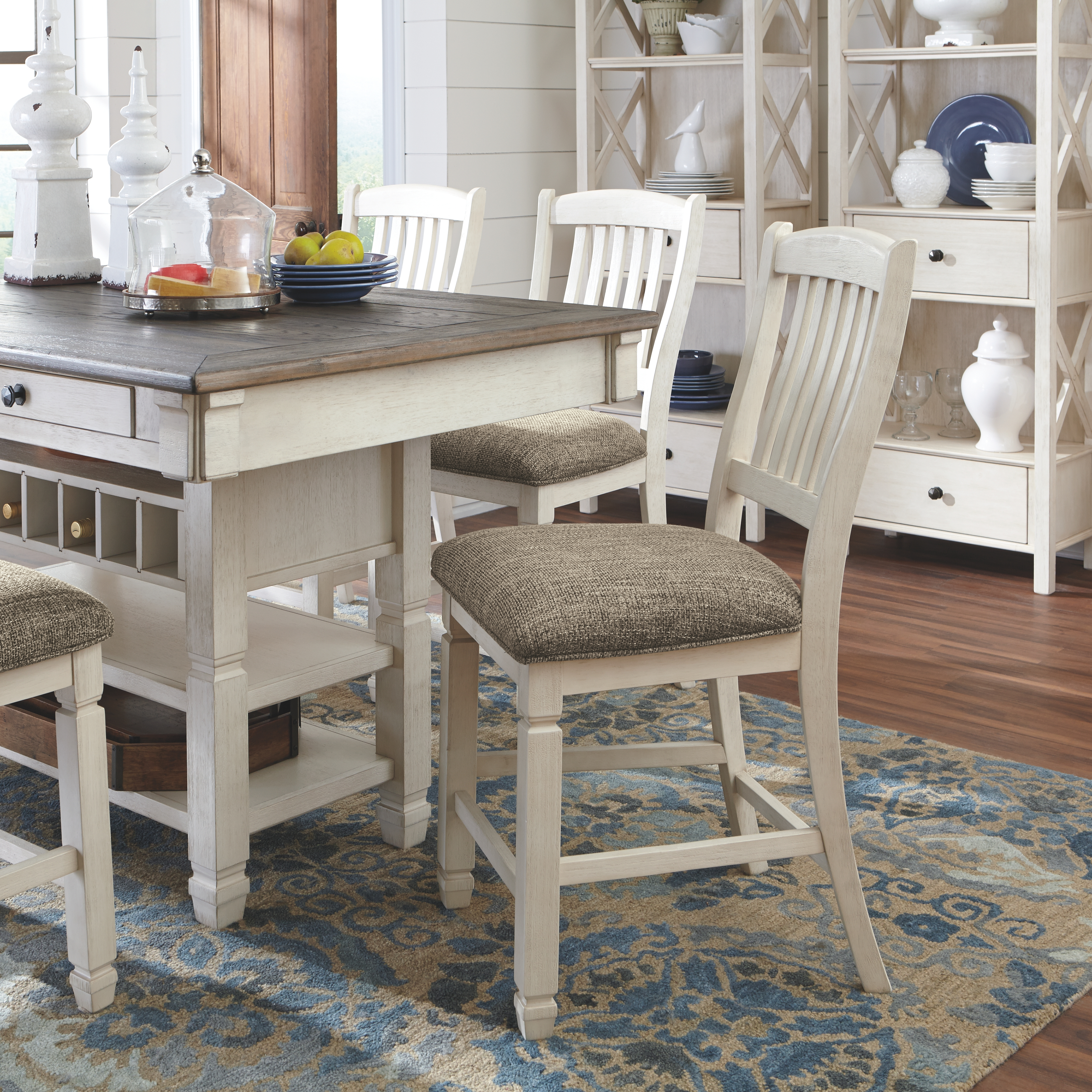 Bolanburg Counter Height Dining Room, High Dining Room Tables