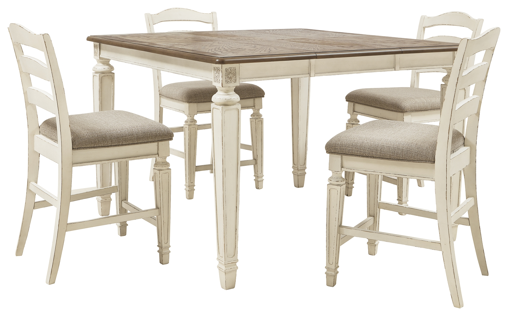 Realyn Counter Height Dining Room Table By Signature Design By Ashley 451121823 Turner S Budget Furniture