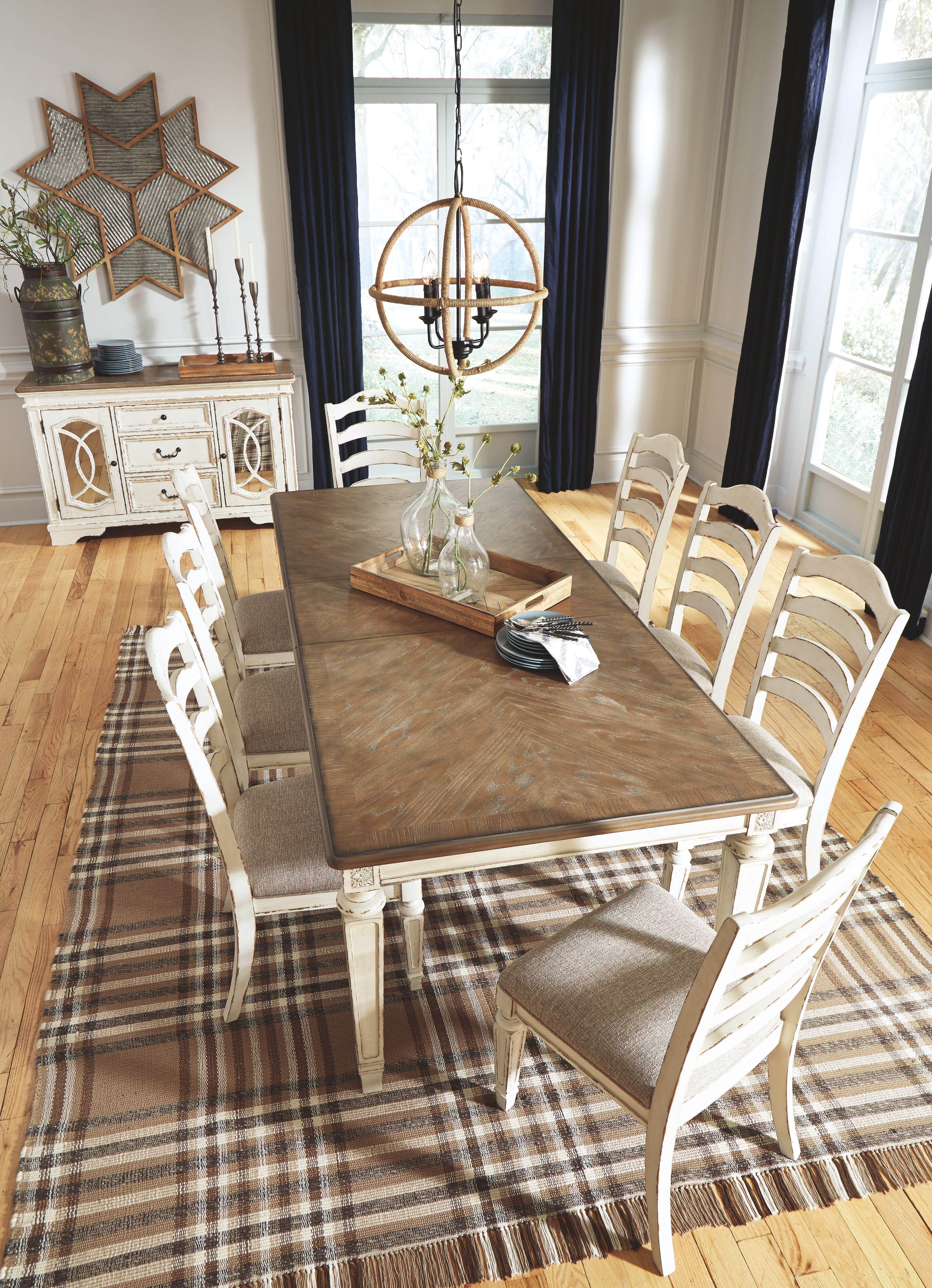 Realyn Dining Room Table 412225624 By, Ashley Furniture Realyn Dining Room Server