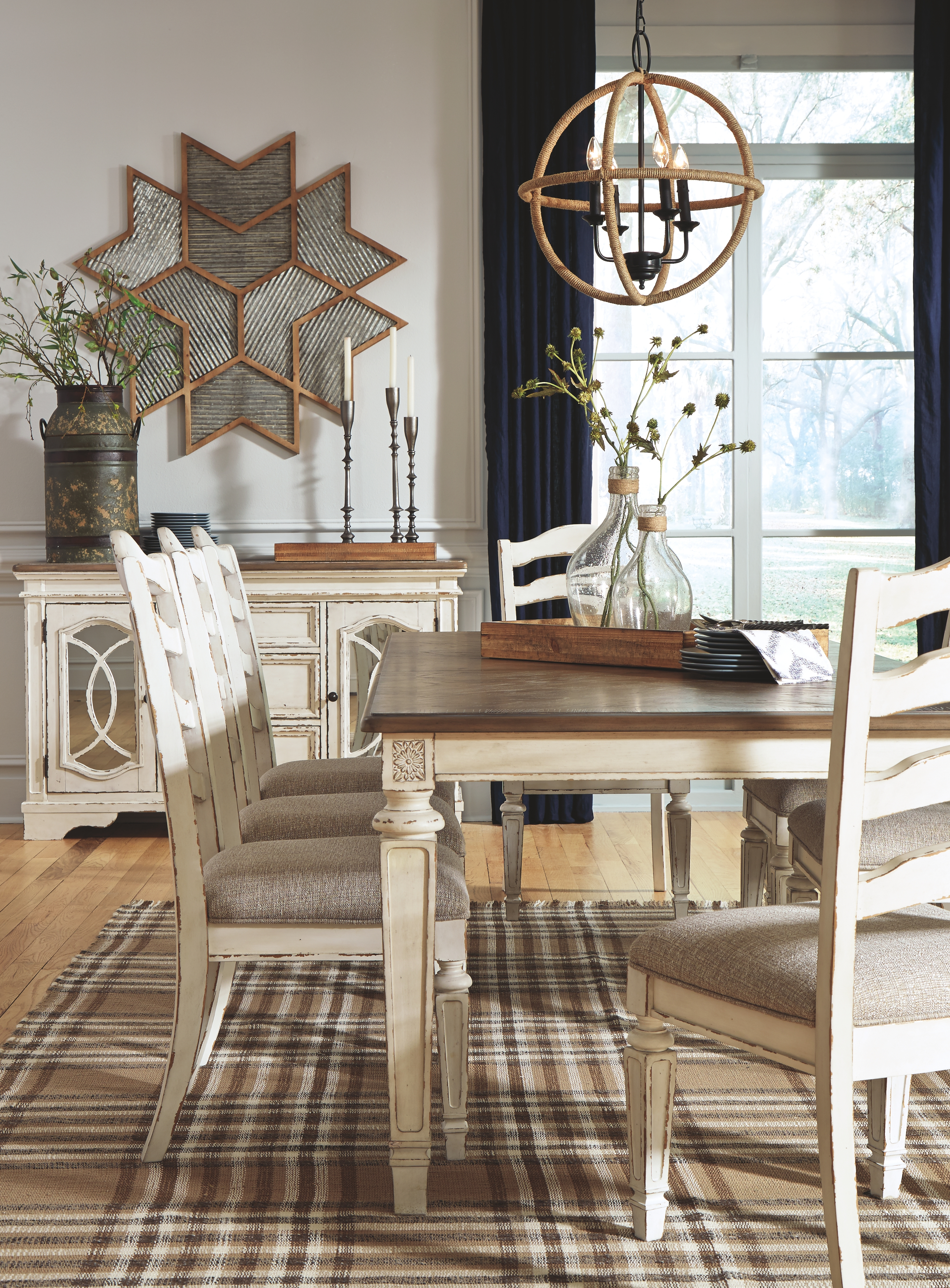 Dining Room Table By Signature Design By Ashley D743 45 The Furniture Mall