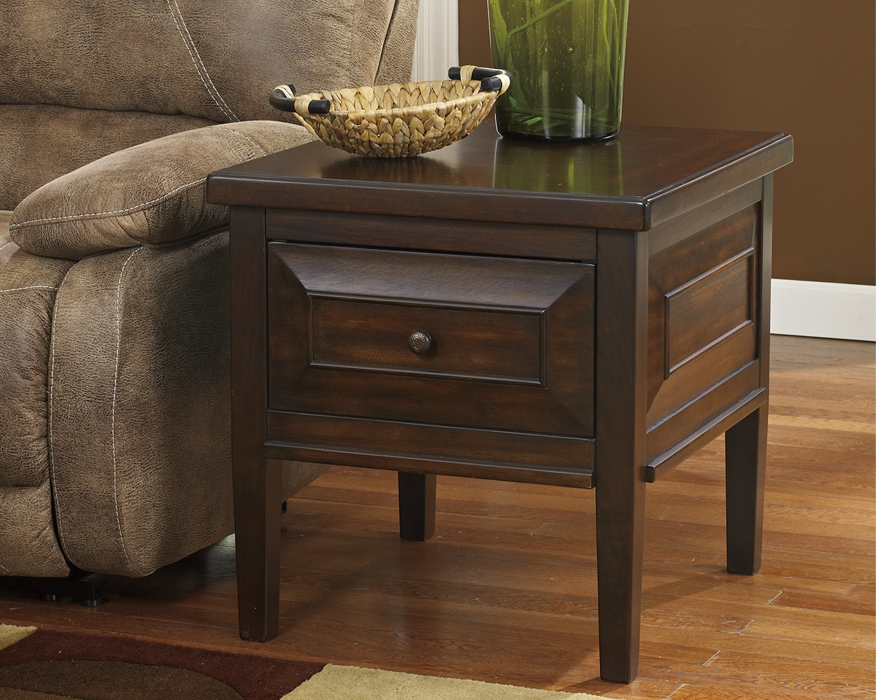 Hindell Park End Table By Signature Design By Ashley T695 2 Pierce Furniture Mattress