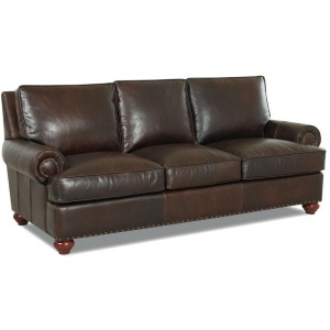 Ellington Sofa w/Lthr