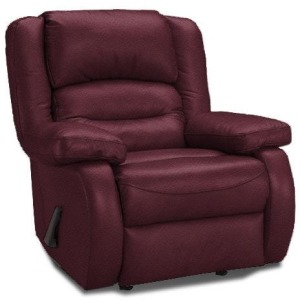 Austin Rocker Recliner With Leather