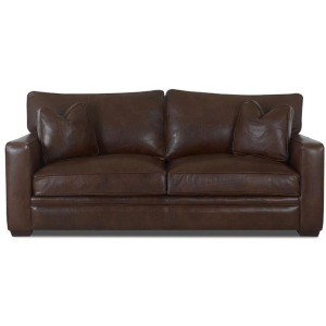 Homestead Sofa w/Lthr