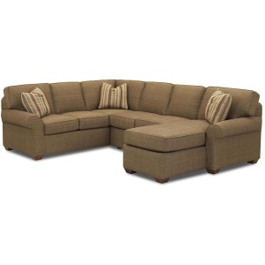Patterns Fabric Sectional