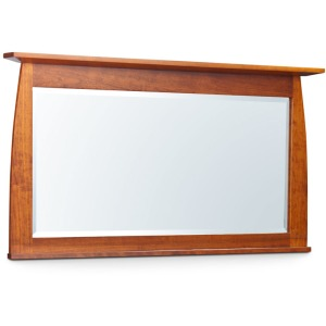 Aspen Bureau Mirror w/ Inlay