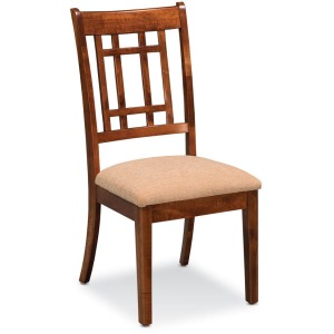 Campbell Side Chair - Wood Seat