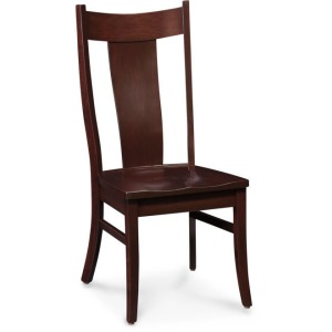 Arnold Wood Seat Side Chair