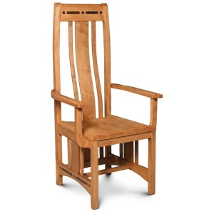 Aspen Arm Chair with Ebony Inlays