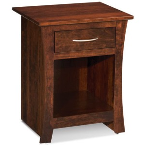Garrett Nightstand with Opening on Bottom