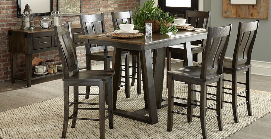 Palettes traditional handcrafted dining table