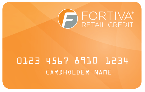 example of a Fortiva credit card