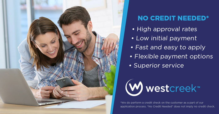 Financing benefits with westcreek