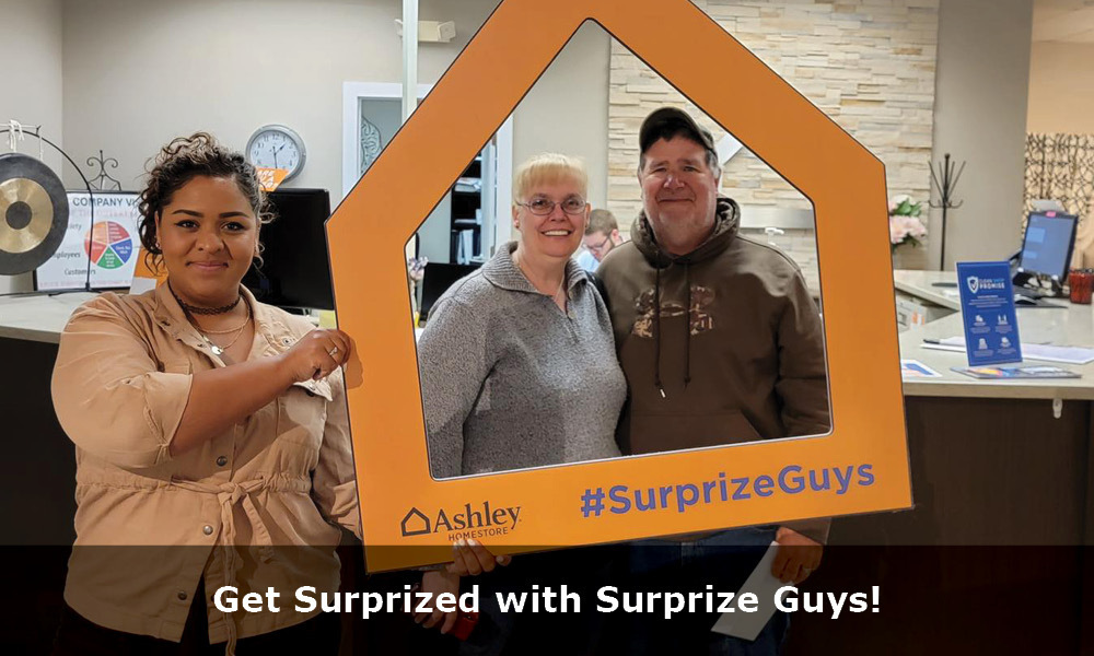Get Suprized-Surprize Guys with copy