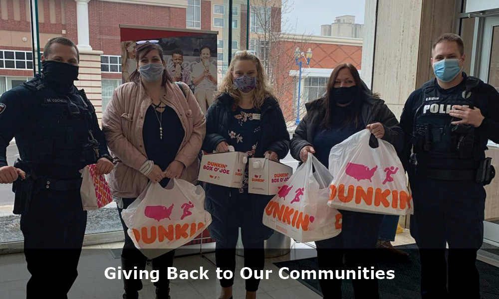 Giving Back To Communities with copy