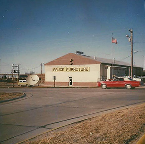 Bruce Furniture in 1977