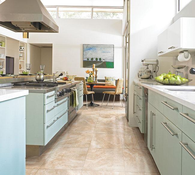 Flooring Option in Kitchen