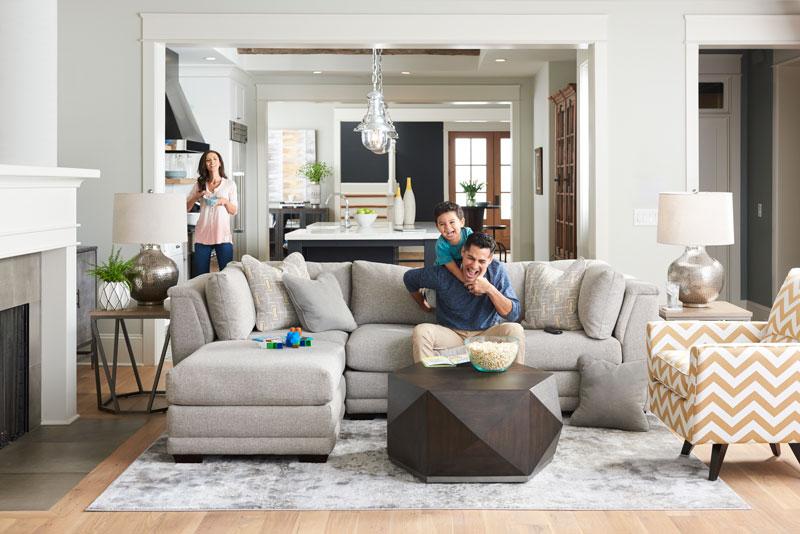 La-Z-Boy Room with Family