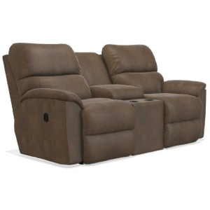 Brooks Reclining Loveseat w/ Console
