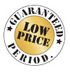 Guaranteed Low Price. Period